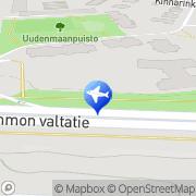 Kartta Tampereen Aluetaksi Oy Tampere, Suomi