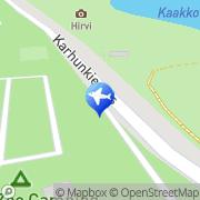 Kartta Ähtärin Eläinpuiston leirintäalue Ähtäri, Suomi