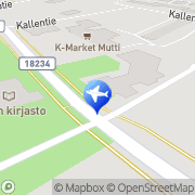 Kartta Sievin kunta Saariveden savottakämppä Sievi, Suomi