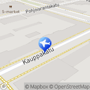 Kartta Meri-Lapin Matkatoimisto Kemi, Suomi