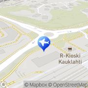 Kartta Taksiasema Espoo Kauklahti asema Espoo, Suomi