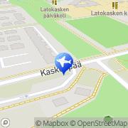 Kartta Taksiasema Espoo Latokaski Kaskenpää Espoo, Suomi
