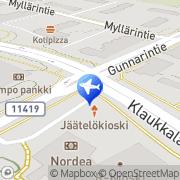 Kartta Matkatoimisto Matka-Vekka Oy Klaukkala, Suomi