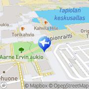 Kartta Fin-Africa Travel Espoo, Suomi