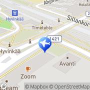 Kartta Matkatoimisto Matka-Vekka Oy Hyvinkää, Suomi