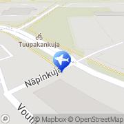 Kartta Taksiasema Vantaa Voutila Näpinkuja Vantaa, Suomi