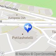 Kartta Taksiasema Helsinki Tukholmankatu Helsinki, Suomi