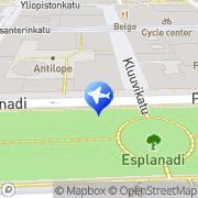 Kartta Taksiasema Helsinki Kämp Helsinki, Suomi