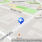 Map Taxi Varabussi Oy Helsinki, Finland