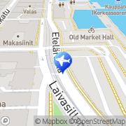Kartta Taksiasema Helsinki Makasiiniterminaali Helsinki, Suomi