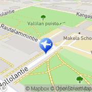 Kartta Taksiasema Helsinki Hollolantie Helsinki, Suomi