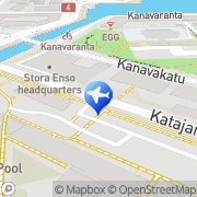 Kartta Taksiasema Helsinki Kanavaterminaali Helsinki, Suomi