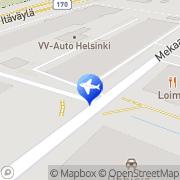 Kartta Europcar Helsinki, Suomi