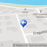 Kartta Jollaksen Taksipalvelu Helsinki, Suomi