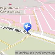 Kartta Taksiasema Lahti Kesa Lahti, Suomi