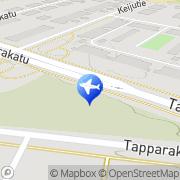 Kartta Taksiasema Lahti Hennala Lahti, Suomi