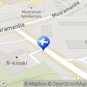 Kartta Tilausliikenne A Kainulainen Oy Muurame, Suomi