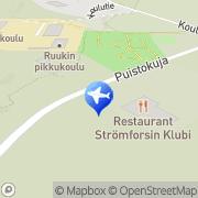 Kartta Strömforsin Matkailu Ky Ruotsinpyhtää, Suomi