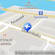 Kartta Saimaan Laivamatkat Savonlinna, Suomi