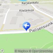 Kartta Taksi Harri Romppanen Joensuu, Suomi