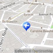 Carte de Cmtp Montpellier, France