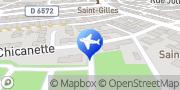 Carte de Camping la Chicanette Saint-Gilles, France