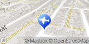 Kaart Taxi centrale Eltax Leiden, Nederland