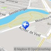 Kaart Koopman Chauffeursdiensten Jos Alkmaar, Nederland
