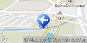Carte de Sixt location de voitures Avignon, France