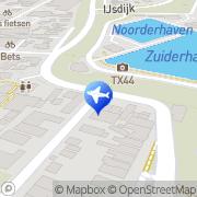 Kaart Holiday Homes Oudeschild, Nederland