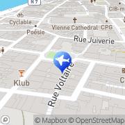 Carte de Bleu Voyages Vienne, France