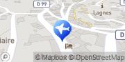 Carte de MAS LE SUD Lagnes, France