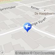Kaart Ham Autoverhuur Kees van Eersel, Nederland