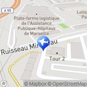 Carte de Fraikin Locamion Marseille, France