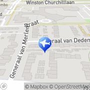 Kaart JEMEK Enterprises Eindhoven, Nederland