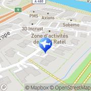 Carte de Paysage Concept Claix, France