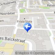 Kaart Taxicentrale E-Tax Leeuwarden Leeuwarden, Nederland