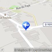 Carte de Coopérative des Taxis du Toulois Villey-le-Sec, France