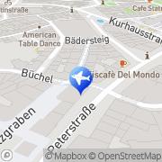 Karte l'tur Reise-Shop Aachen Aachen, Deutschland