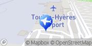 Carte de Enterprise Rent-A-Car - Aéroport de Toulon Hyères Hyères, France
