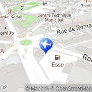 Carte de Premat Annemasse, France