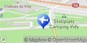 Carte de Camping de Vidy-Lausanne Lausanne, Suisse
