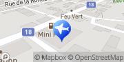 Carte de Taxi Bleu La Chaux-de-Fonds, Suisse