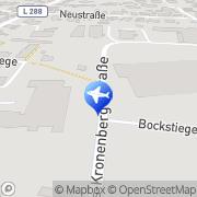 Karte Taxi Domschky Leichlingen (Rheinland), Deutschland