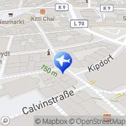 Karte Reisebüro L'tur Last Minute Wuppertal, Deutschland
