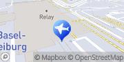 Karte SIXT Autovermietung Basel Flughafen Basel, Schweiz
