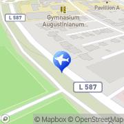 Karte Lückertz First Reisebüro GmbH Greven, Deutschland