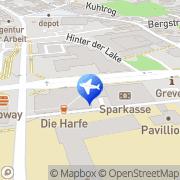Karte Cornelius Weilke Greven, Deutschland