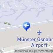 Karte Thomas Cook Reisebüro Flughafen Münster-Osnabrück Greven, Deutschland