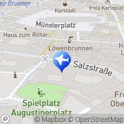 Karte Augustinermuseum Freiburg, Deutschland